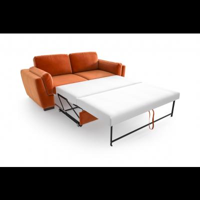 2-Sitzer-Schlafsofa Bree Convertible | Orange