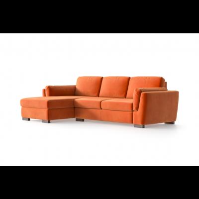 Ecksofa Bree Links | Orange