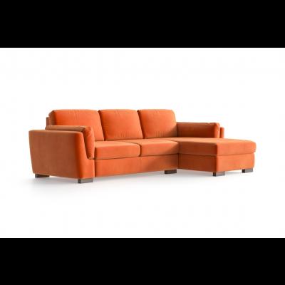 Ecksofa Bree Rechts | Orange