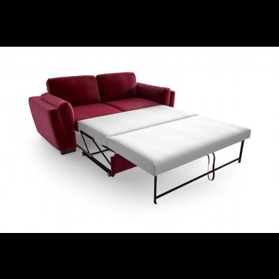 2-Sitzer-Schlafsofa Bree Convertible | Rot