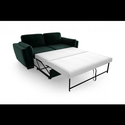 2-Sitzer-Schlafsofa Bree Convertible | Dunkelgrün