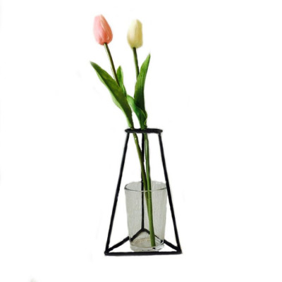 Iron Vase Holder   11 cm x 16 cm