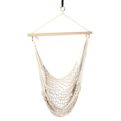 Cotton Rope Hammock | White