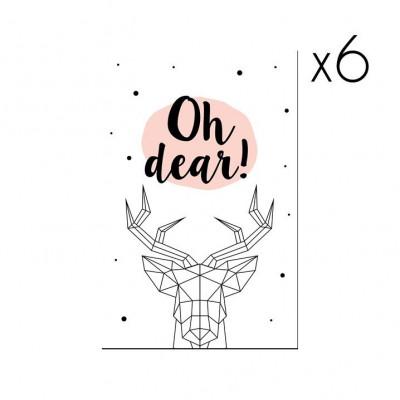 Christmas Cards | Set of 6 Oh Dear