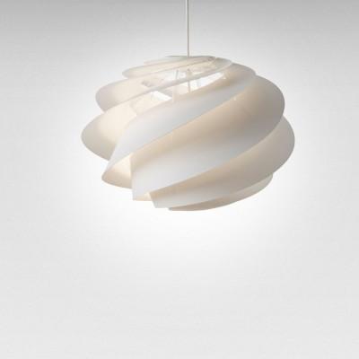 Pendant Lamp Swirl 1 | White