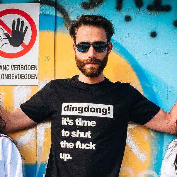T-shirt | Männer | Es ist Zeit, die Klappe zu halten