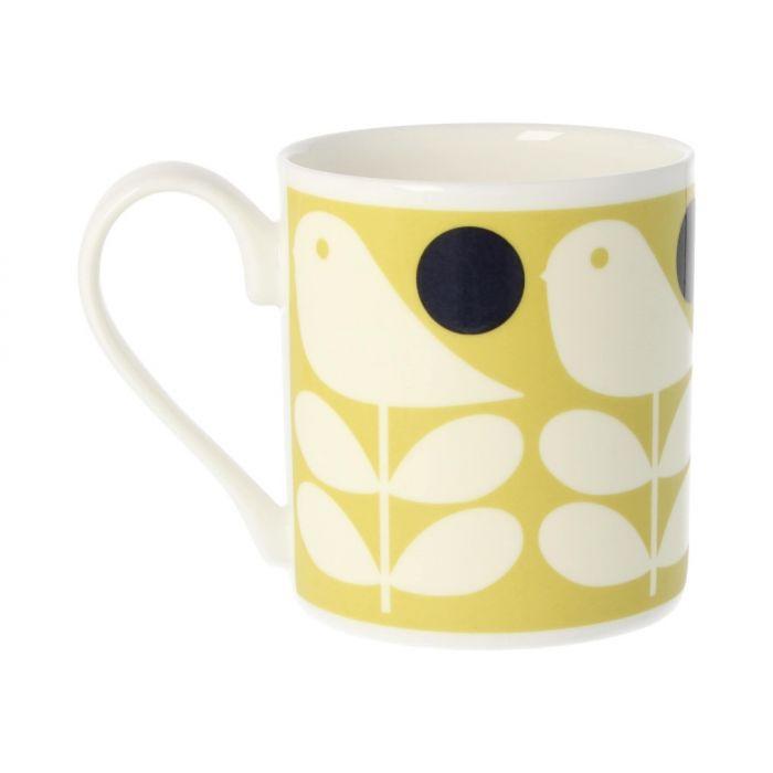 Tasse früher Vogel | Gelb