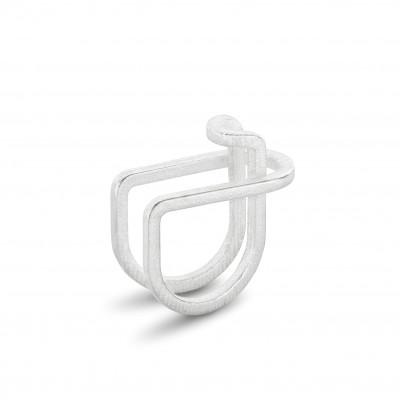 Ausgeglichener Ring #1 | Silber