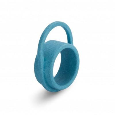 Ausgeglichener Ring #3 | Türkis