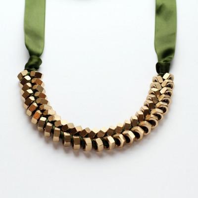 Necklace Olive Gold