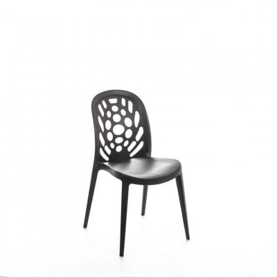 Polypropylen-Stuhl OM/103/GS   Dunkelgrau