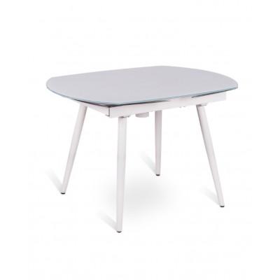 Verlängerbarer Tisch | Weiß