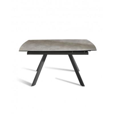 Verlängerbarer Tisch | Dunkelgrau