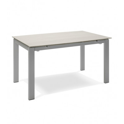Verlängerbarer Tisch | Beige