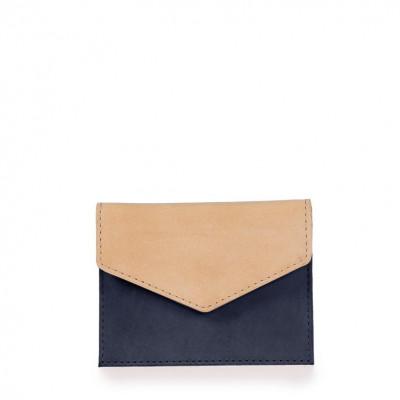 Envelope Cardholder | Eco-Classic Navy & Natural