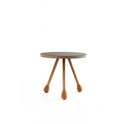 Ein Tisch klein   Schwarz