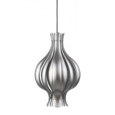 Onion Pendant Lamp Silver