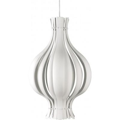 Onion Pendant Lamp White
