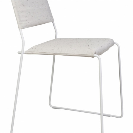 Chaise One Wire | Blanc