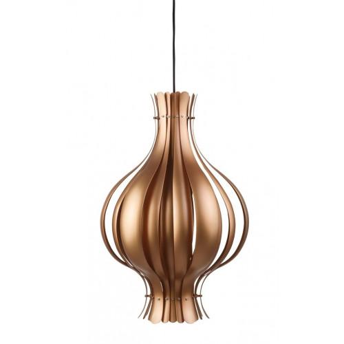 Onion Pendant Lamp Copper