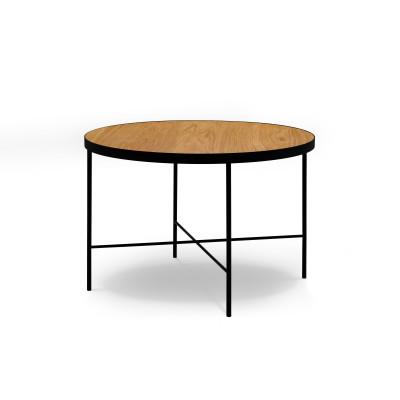 Couchtisch Orsay 60x60x40 cm | Eiche Natur Furnier