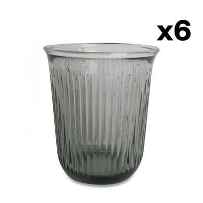 Gläser 6er-Set | Grau