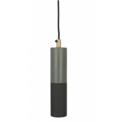 By Metal Pendant Lamp | Black & Green