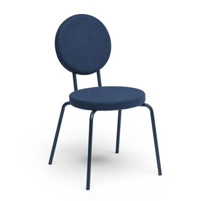 Darkblue   Round Seat, Round Backrest