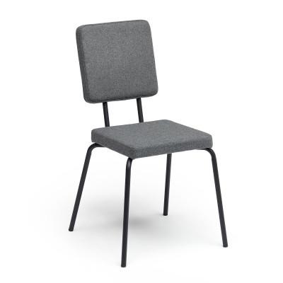 Grey   Square Seat, Square Backrest