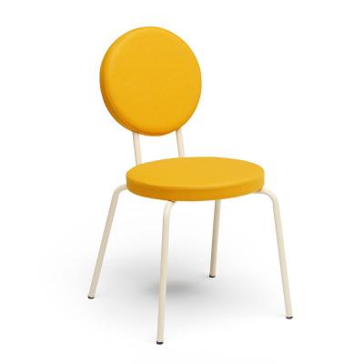 Crème   Round Seat, Round Backrest