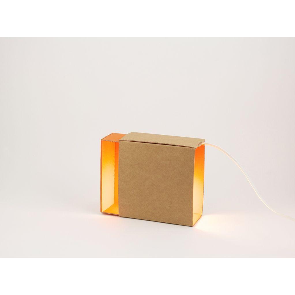 Streichholzschachtel Light Orange