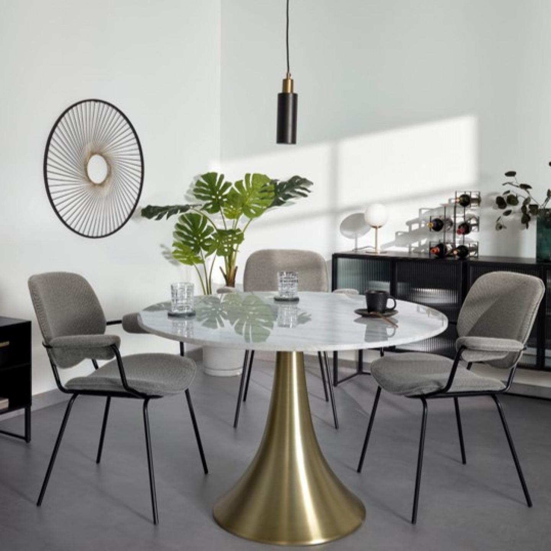 Table Oria   White Marble