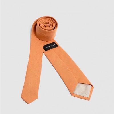 Linen Tie | Orange Skipper