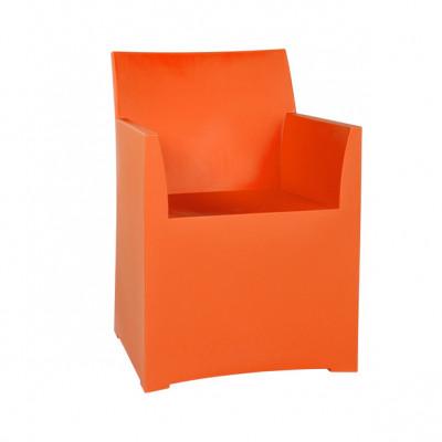 Rainbow Stool with cushion - Orange