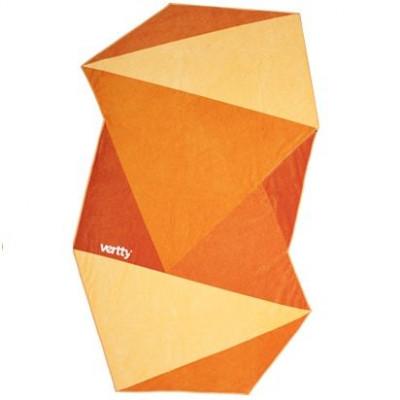 Vertty Beach Towel | Classic Orange