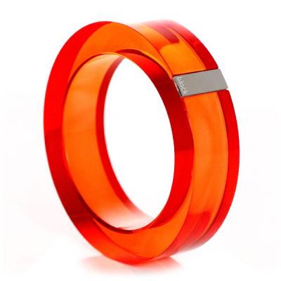 Acryl-Armreif - Orange