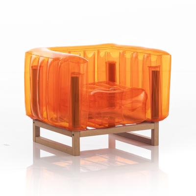 Sessel Yomi Wood   Orange