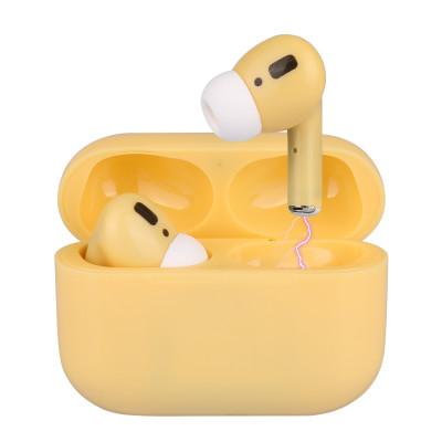 Drahtlose Mini Bluetooth-Kopfhörer ORB 65   Gelb