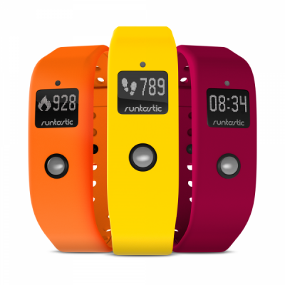 Runtastic Orbit   Wristbands   Set of 3: Sunshine Yellow, Ordinary Orange and Powerful Pink