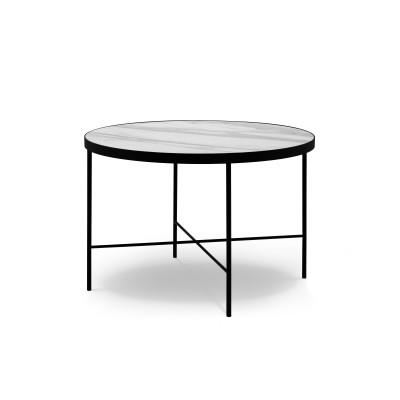 Couchtisch Orsay 60x60x40 cm | Weiß Venato
