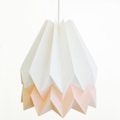 Orikomo Lampenschirm- Weiß/Rosa