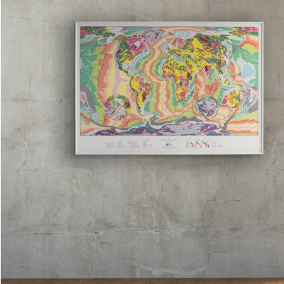 World Geological Wall Map | Large