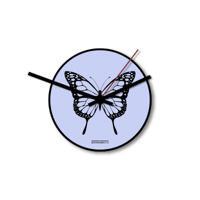Clock Butterfly | Lavender