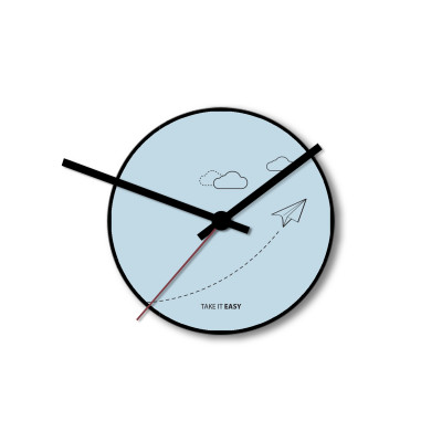 Wall Clock Take It Easy