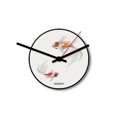 Wall Clock Koi