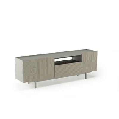 TV-Ständer Orto XL | Open Low Frez | Grau