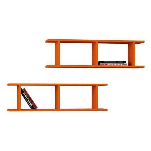 Shelf Ray Set of 2 | Orange