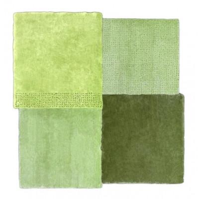Teppich über dem Platz | Grün