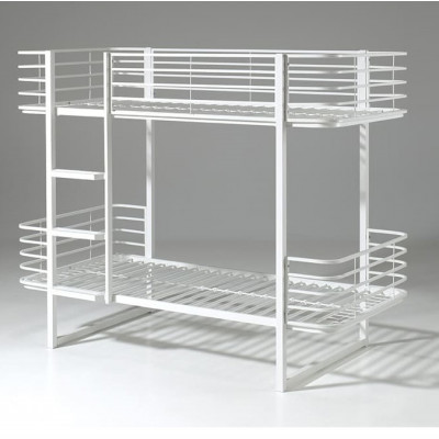 Etagenbett Oscar | 200 x 90 cm | Weiß