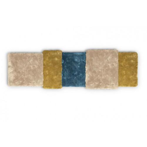 Teppich über Streifen   Mix